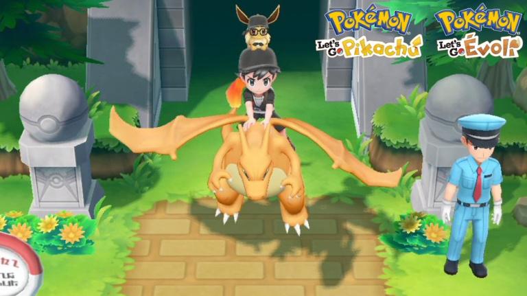 Pokémon Let's Go Pikachu / Evoli : quels Pokémon peut-on chevaucher ?
