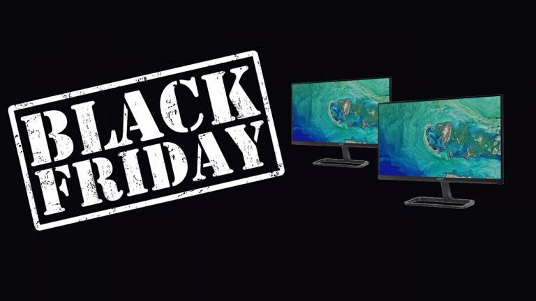 """Black Friday : Le duo d'écrans 24"""" pour moins de 150€"""