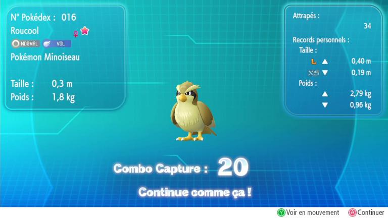 Shasse Pokémon Let's GO, Shiny, Chromatiques : la méthode pour en trouver à coup sûr rapidement découverte ?
