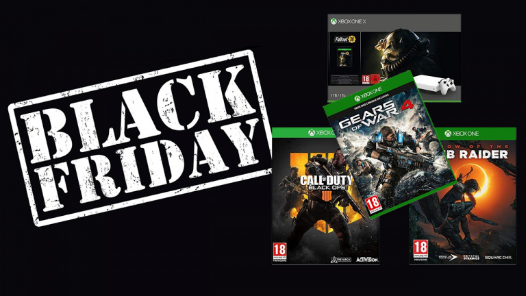 Black Friday : Pack Xbox One X 1To + 4 jeux à 439€
