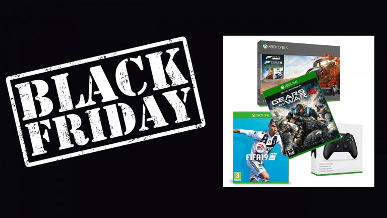 Black Friday : Pack Xbox One X 1To + 4 jeux + 2nd pad à 439.00€