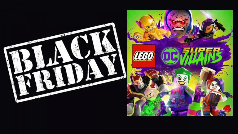 Black Friday : LEGO DC Super-Villains à 15,99€