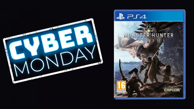 Cyber Monday : Monster Hunter World à 19.92€ sur PS4