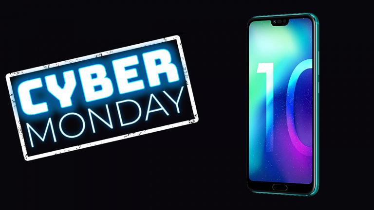 Cyber Monday : Le Honor 10 128 Go sous la barre des 350€