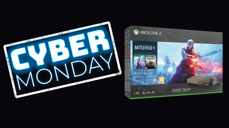 Cyber Monday : Le pack Xbox One X Battlefield V Gold Rush Edition à 399,99€