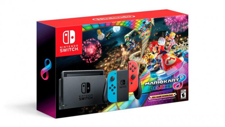 Nintendo Switch : le bundle Mario Kart 8 arriverait en France