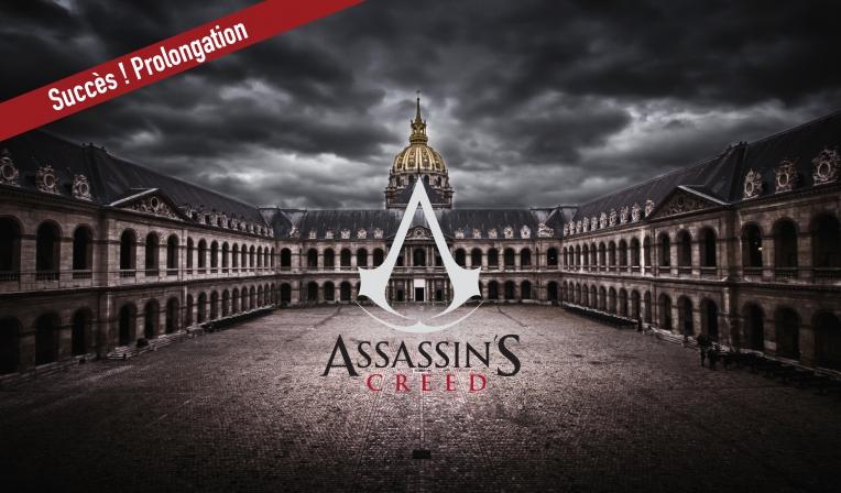 L'expérience Assassin's Creed aux Invalides de retour en décembre