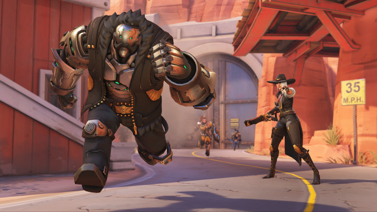 Overwatch : Ashe se rend disponible en mode compétitif