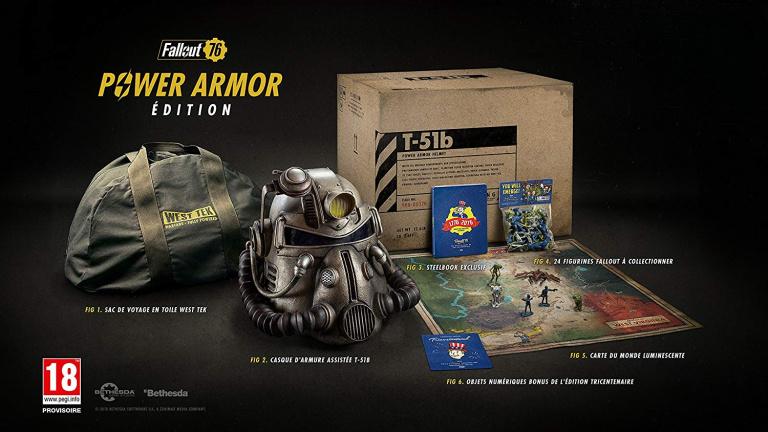 Fallout 76 : une compensation pour les possesseurs de l'édition collector