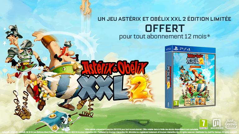 Un jeu Astérix et Obélix XXL 2 Remastered offert pour tout abonnement Wootbox 12 mois !