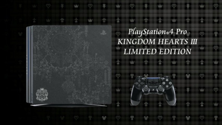 Kingdom Hearts III : des images de la PS4 Kingdom Hearts III Edition destinée au Japon