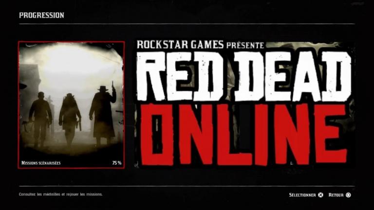 Red Dead Online, bloqué à 75% de progression ? Comment continuer à progresser, notre guide