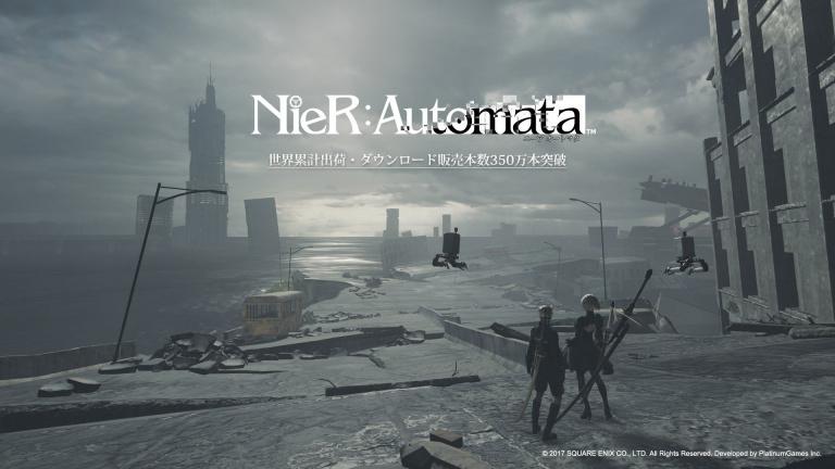NieR Automata : 3,5 millions de copies vendues dans le monde