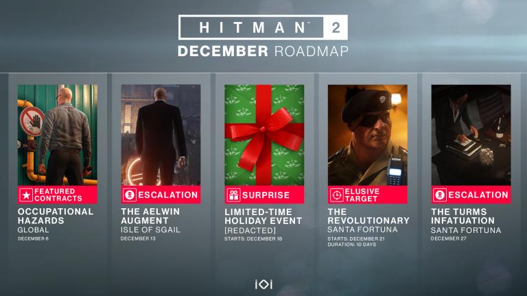 Hitman 2 : un planning chargé pour l'Agent 47 en décembre