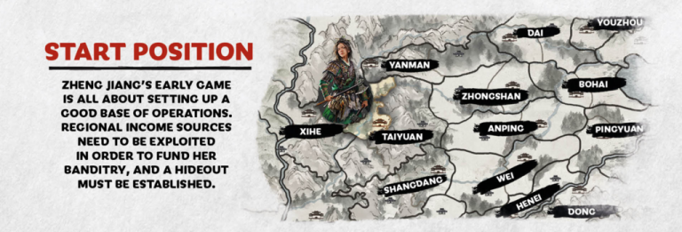 Total War : Three Kingdoms - Zheng Jiang se présente dans un trailer in-engine