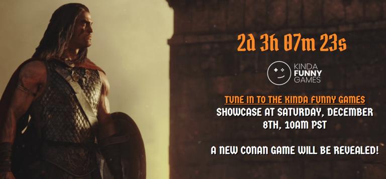Funcom présentera son prochain jeu Conan durant le Kinda Funny Showcase