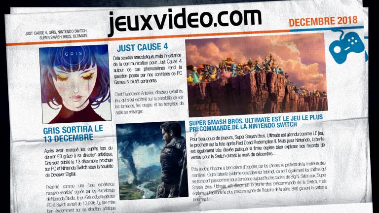 Les infos qu'il ne fallait pas manquer hier : Fallout 76, Microsoft, Game Awards...