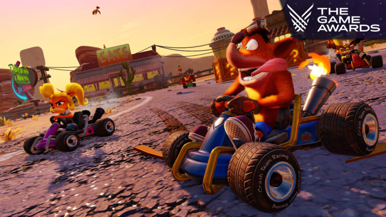 Crash Team Racing: Nitro-Fueled, remake de CTR, dévoilé en vidéo