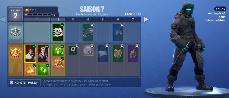 Fortnite, saison 7 : que contient le BattlePass et comment l'optimiser ?