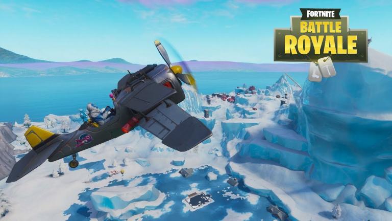 Guide Fortnite, nouveautés saison 7 : avion, tyroliennes, lacs gelés... Stats et stratégies