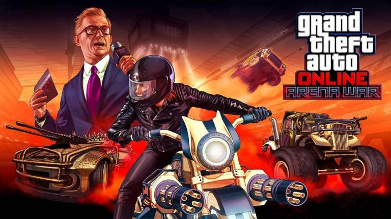GTA Online : La Guerre d'arène introduite dès aujourd'hui