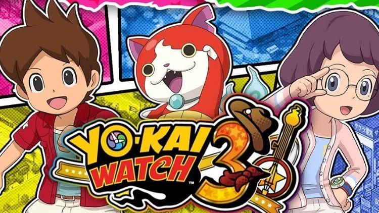 Yo Kai Watch 3 : listes des mots de passe et QR Codes