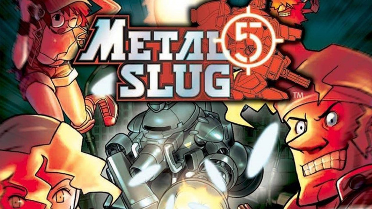 ACA Neo Geo Metal Slug 5 arrive sur Nintendo Switch