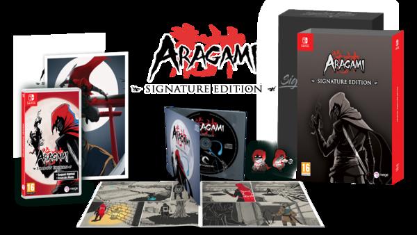 Aragami : une édition collector et une nouvelle date pour le jeu d'infiltration sur Switch