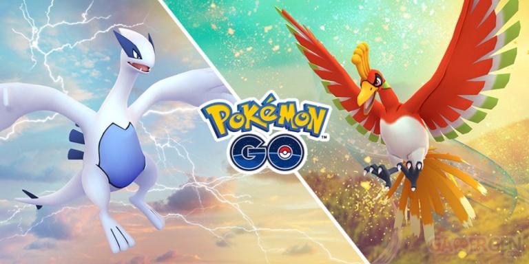 Pokémon Go : Ho-Oh et Lugia de retour dans les Raids