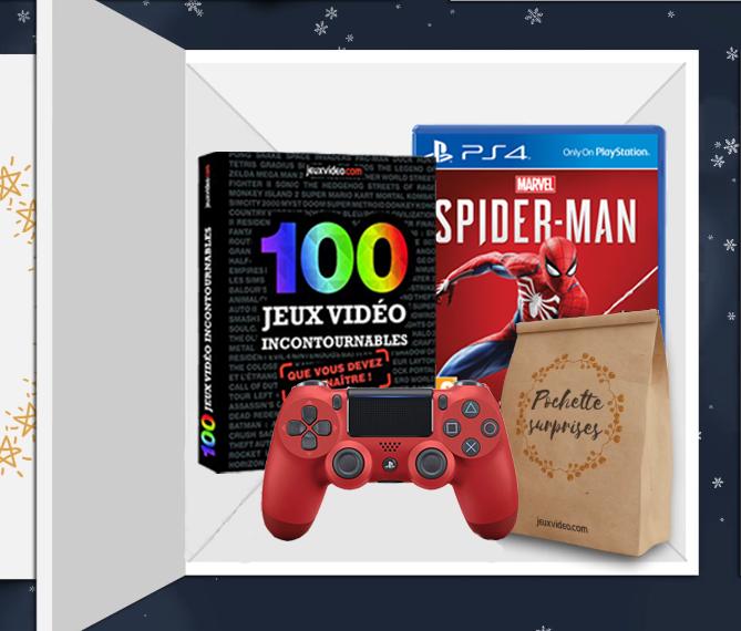 [MÀJ] Concours de Noël : gagnez Spider-Man et une Dual Shock 4 rouge !