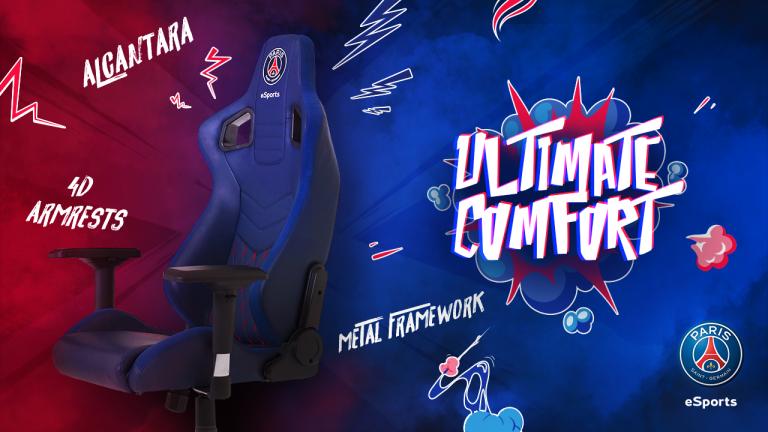 Wearefans : Promotion sur le siège gamer PSG ESPORTS