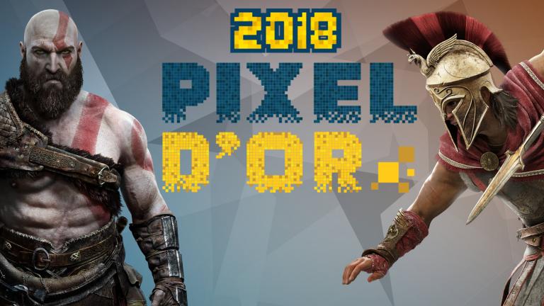 Les Pixels d'Or 2018 de jeuxvideo.com : les meilleurs jeux de l'année