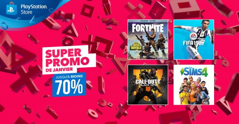 PS Store : Jusqu'à -70% avec la super promo de Janvier !