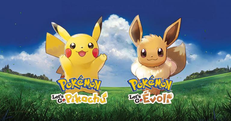 Pokémon Let's Go, Pikachu / Évoli : des ventes numériques relativement faibles au Japon