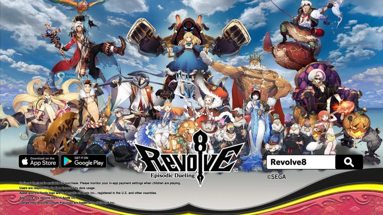 Revolve8: Episodic Dueling : le free to play de Sega sera lancé le 5 février