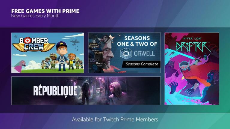Twitch Prime : Hyper Light Drifter et Bomber Crew offerts aux abonnés en janvier