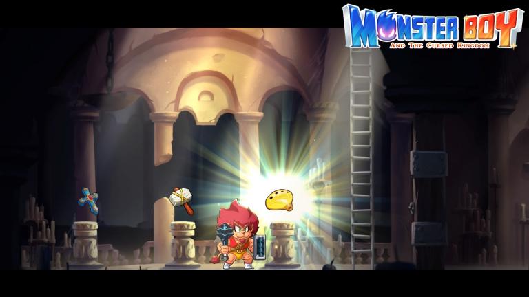 Monster Boy et le Royaume Maudit : emplacement des trois reliques et des tenues en or