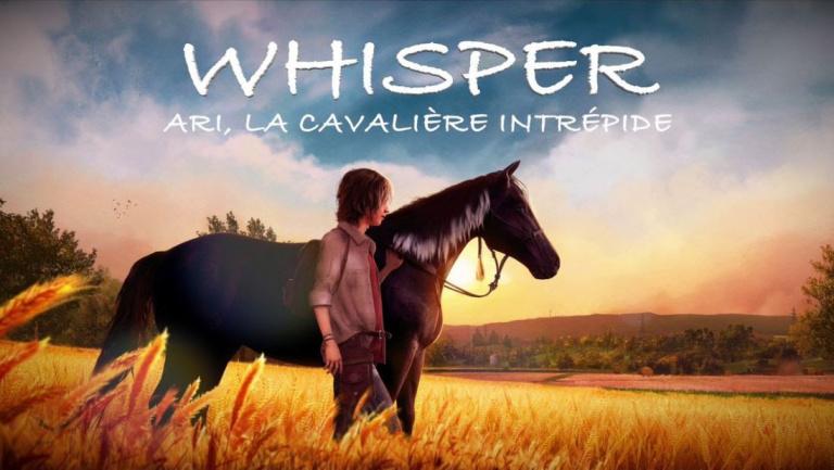 Whisper : Ari, la Cavalière Intrépide annoncé pour mars 2019