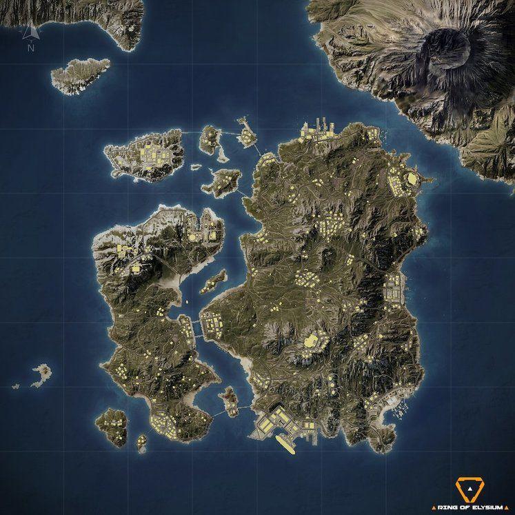 Ring of Elysium : une nouvelle carte pour la saison 2 du battle royale