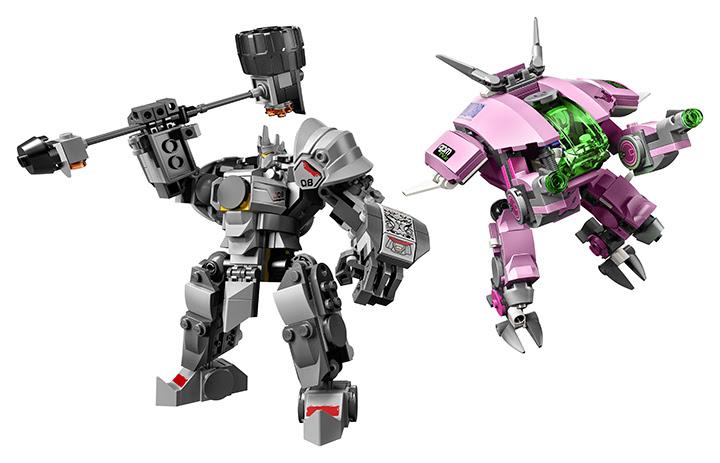 Overwatch : Les boîtes de LEGO débarquent en France