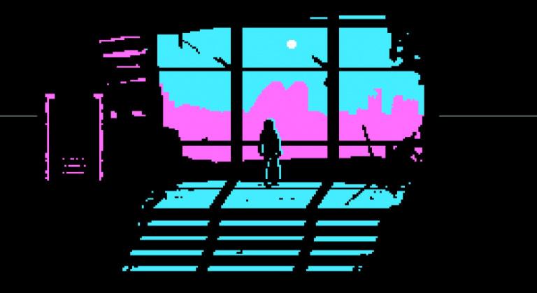 The Eternal Castle [REMASTERED] : le remake en CGA d'un jeu fictif