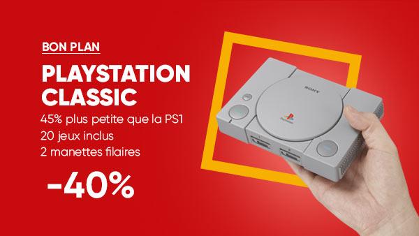 Fnac : Profitez de la PS Classic à -40% ainsi que de plusieurs jeux en promo !
