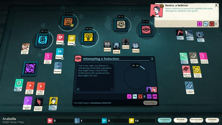Cultist Simulator va étendre son scénario avec un mode New Game+
