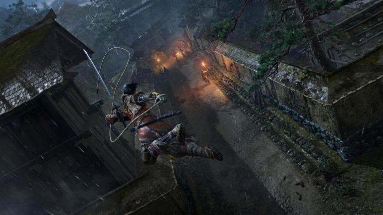 Sekiro montre toute son agilité dans un court extrait de gameplay