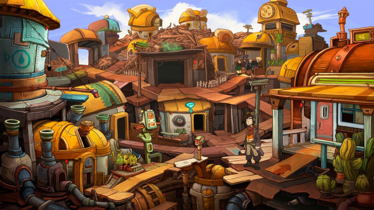 Deponia : Just for Games confirme l'arrivée du point'n click sur Switch