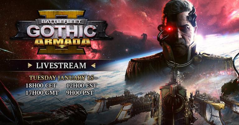 Battlefleet Gothic : Armada 2 - les développeurs présenteront la campagne demain en stream