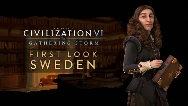 Civilization VI : Gathering Storm - Christine mène la Suède