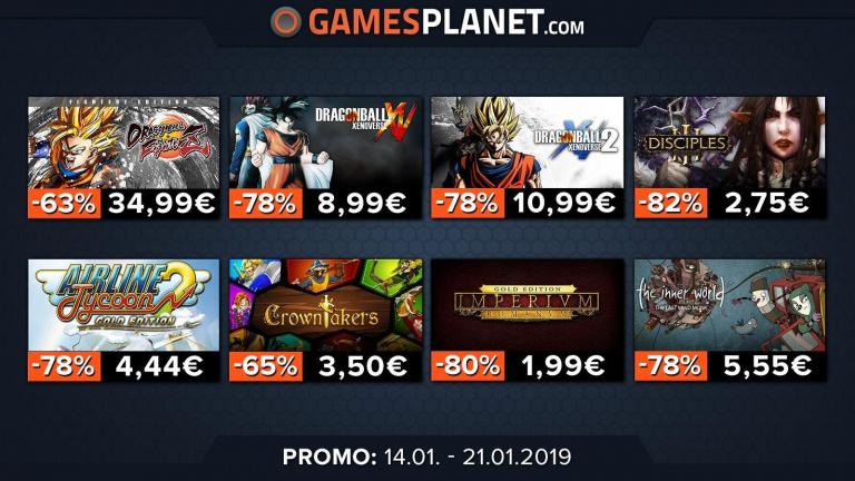 Gamesplanet : Retrouvez des promotions sur les jeux Warhammer 40.000, Dragon Ball Z et Onimusha: Warlords !