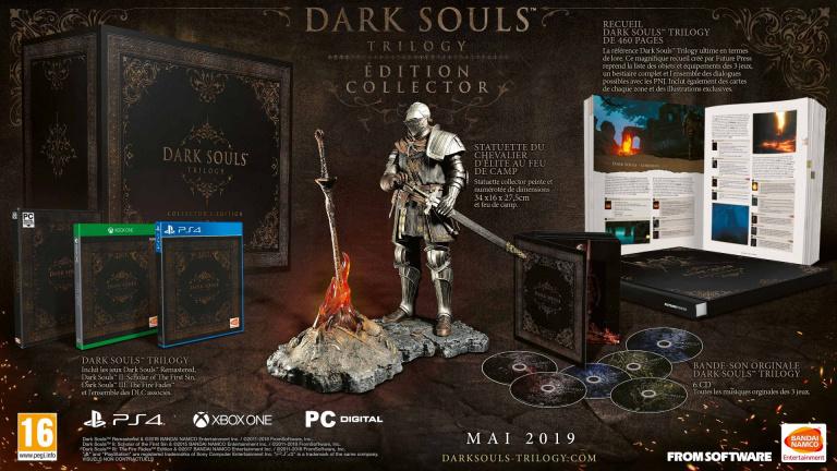 Dark Souls Trilogy : une édition collector pour les fans endurcis