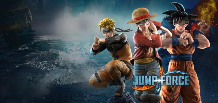 Jump Force : Jotaro (Jojo's Bizarre Adventure) et Daï (Dragon Quest) aperçus sur une pub
